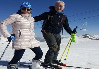 Iran Winter Tour, Ski im Iran