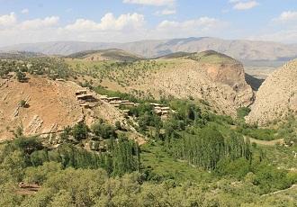 La nature du village Ghalat