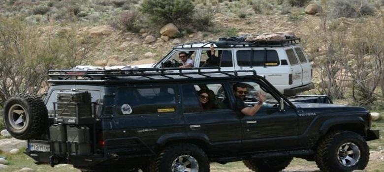 Raids 4x4 en Iran