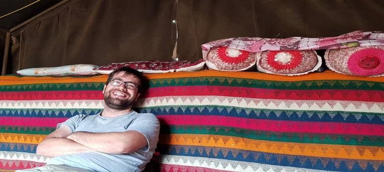 Bleib bei der iranischen Nomaden-Gheshlagh