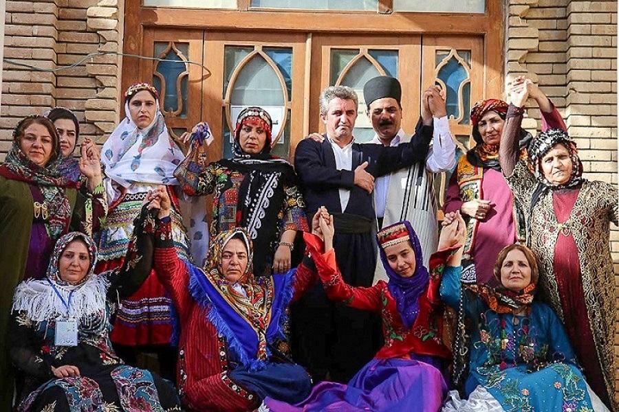 Iran hat eine Gesellschaft mit unterschiedlichen Ethnien und Kulturen
